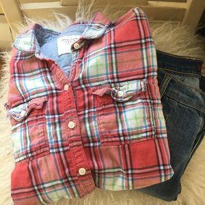 Abercrombie &Fitch plaid shirt